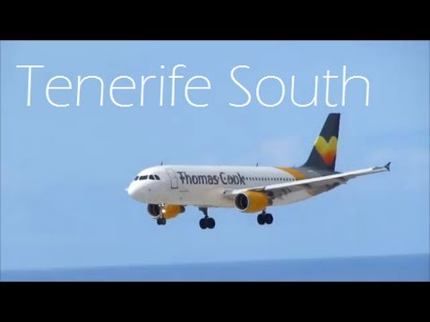 Tenerife South Airport - 14+ minutes of Spotting