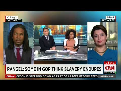 CNN panel has had it with Charlie Rangel