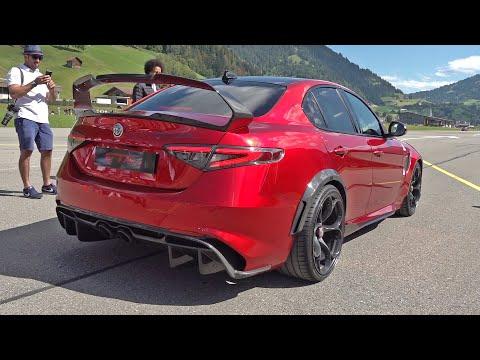 Alfa Romeo Giulia GTAm - Exhaust Sounds, Visual Review & Accelerations!