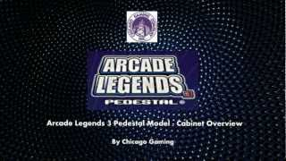 Arcade Legends 3 Pedestal Model - Classic Video Arcade Machine - Bmigaming.com - Chicago Gaming