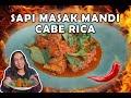MASAK SAPI MANDI 50 CABE RICA