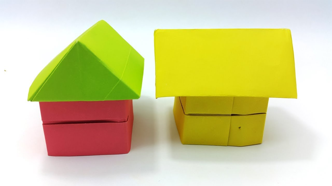 3d house origami easy techniques how to make origami house 3d house origami easy techniques how to make origami house best easy instructions jeuxipadfo Gallery