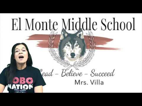EL Monte Middle School Promotion video 2018