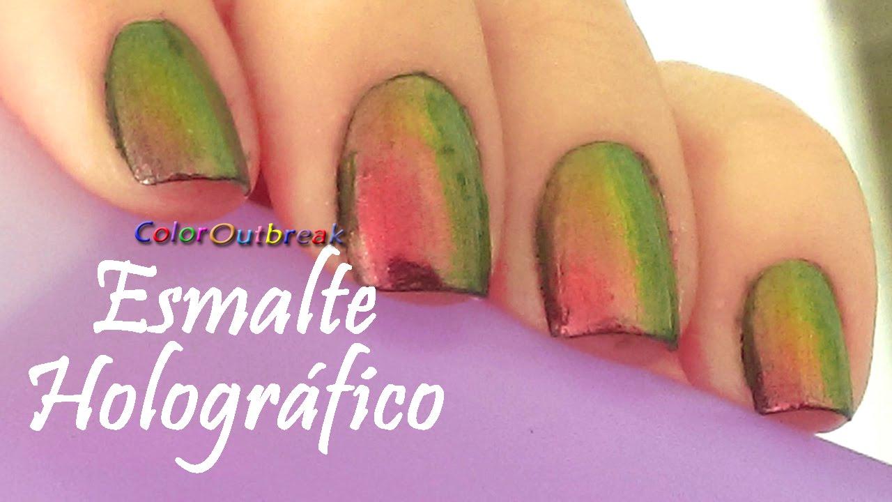 Born Pretty Esmalte Chameleon Holográfico #205 Colores en uñas Rosa ...