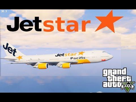 GTA 5 - Làm phi công lái máy bay hãng Jetstar