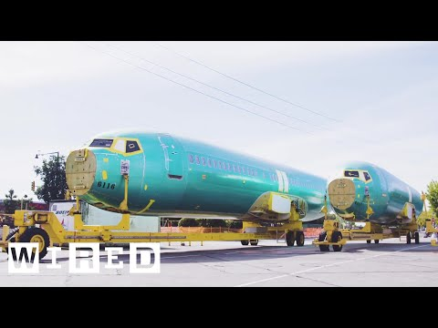 How Boeing Builds a 737 in Just Nine Days | WIRED
