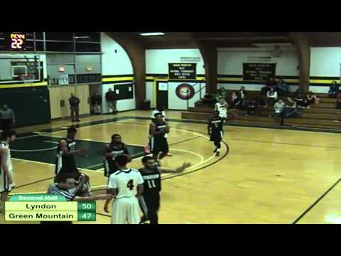 Lyndon State College vs. Green Mountain College Men's Basket