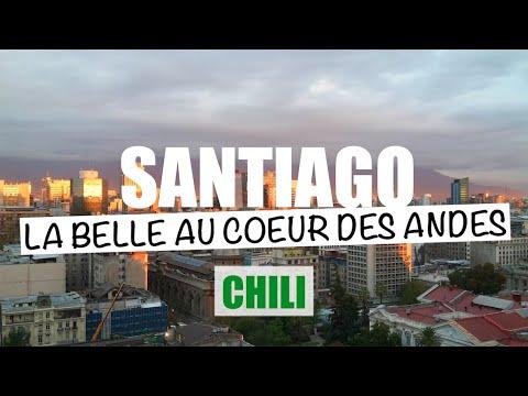 Santiago, la belle au coeur des Andes