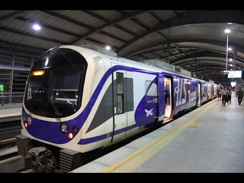 Singapore MRT Train stock image. Image of rapid, transit ...