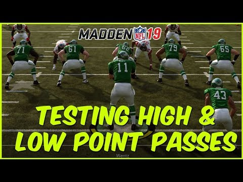 Madden 19 | Testing Low And High Point Passes - Are They Still Glitchy?