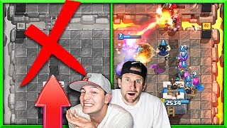 Left is BANNED! • Right Lane Only in Clash Royale!