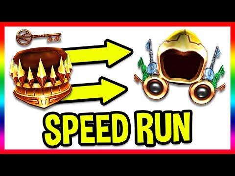 GOLDEN DOMINUS EVENT SPEEDRUN! COPPER KEY TO GOLDEN EGG! (Golden Wings of the Pathfinder) | Roblox