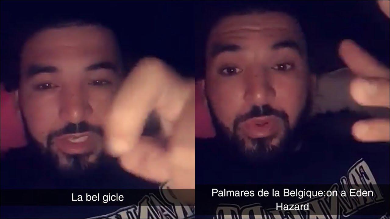 Mohamed Henni «DEMAIN ÇA SERA PLUS LA BELGIQUE 🇧🇪 MAIS LA BEL-GICLE»