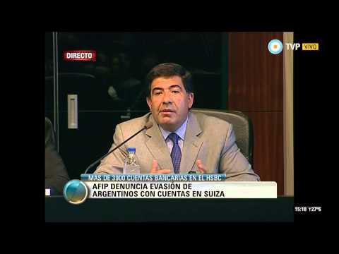 Visión 7 - La AFIP denunció la evasión de argentinos con cuentas en Suiza