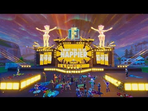 Marshmello Ft. Bastille - Happier (Official Fortnite Music Video)