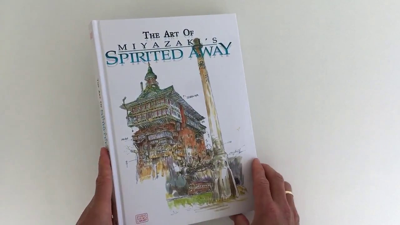 Studio Ghibli Art Of Spirited Away Quicklook Coolbook Youtube