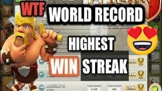 442!!! LONGEST WAR WIN STREAK IN CLASH OF CLANS | HIGHEST WIN STREAK RECORD | Ep-001 : Sarabjeet192