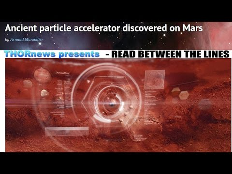 NASA & CERN confess to Stargates & Particle Accelerator on Mars