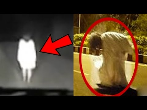 10 PARANORMAL & CREEPY Things Caught On Camera!