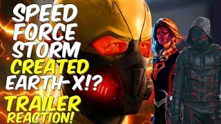 Speed Force Storm Created Earth-X!? DCTV Crossover Event! Trailer Reaction & Highlights!