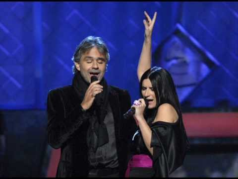 with vivo per lei andrea bocelli laura pausini official video just