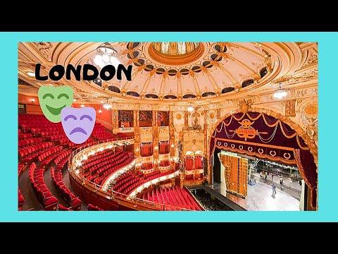 The spectacular London Coliseum (English National Opera), LONDON