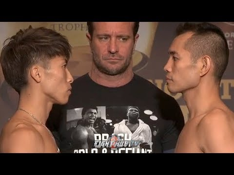 NAOYA INOUE VS NONITO DONAIRE - FULL WEIGH IN AND FACE OFF VIDEO