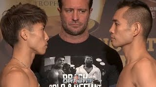 naoya-inoue-vs-nonito-donaire-full-weigh-in-and-face-off-video