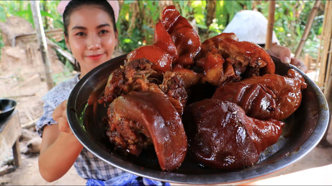 Cooking simple braised pork belly recipe YouTube
