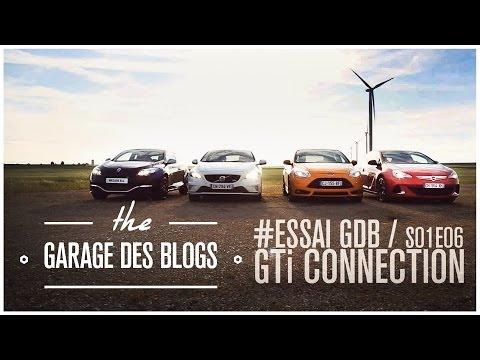Megane RS RB8 - Astra OPC - Focus ST - V40 T5 R Design : Garage des Blogs S01E06 GTi Connection