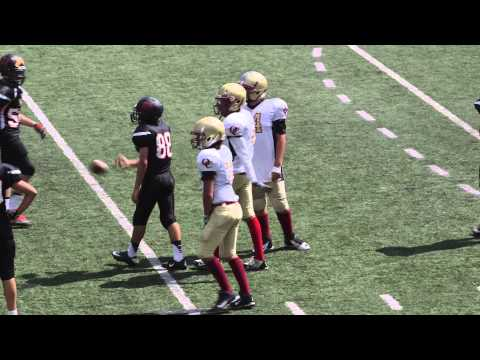 Middle School Football - Oaks Christian Vs. Harvard Westlake  9-27-2014