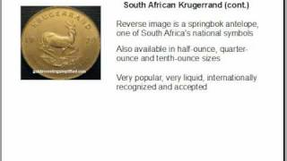 Investing In Gold - 3 Popular Gold Bullion Coins