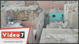 محافظ بنى سويف يعلن إعادة بناء وتطوير عزبة الصفيح وشق التعبان