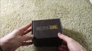 December 2016 Unboxing of Watch Gang Subscription Box thumbnail