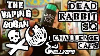 Dead Rabbit SQ + Challenge Caps   Heathen x Hell Vape   The Vaping Bogan