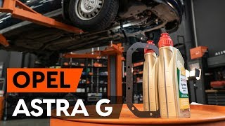 Como substituir óleo da caixa de velocidades OPEL ASTRA-G CC 1 (F48_,F08_) [TUTORIAL AUTODOC]