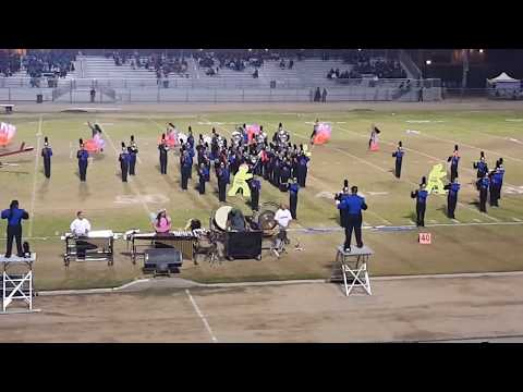 """East Bakersfield High School Band at the 2018 """"Howl"""" Band Competition at Ridgeview High School!"""