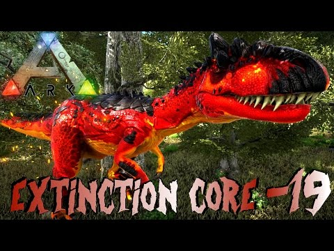 ARK: Extinction Core #19 - Alpha Allosaurus, Alpha Giga, Alpha T-Rex, Alpha Chaos! | LP Ark Deutsch