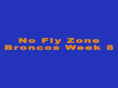 Broncos No Fly Zone Week 8