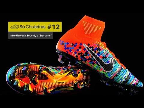 bf30b4c091c3a Chuteira Nike Mercurial Superfly x EA Sports