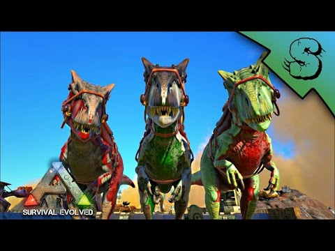 ALLOSAURUS & PELAGORNIS TAMING + BREEDING! | PACK BOOSTING! | Ark: Survival Evolved [S2E40]