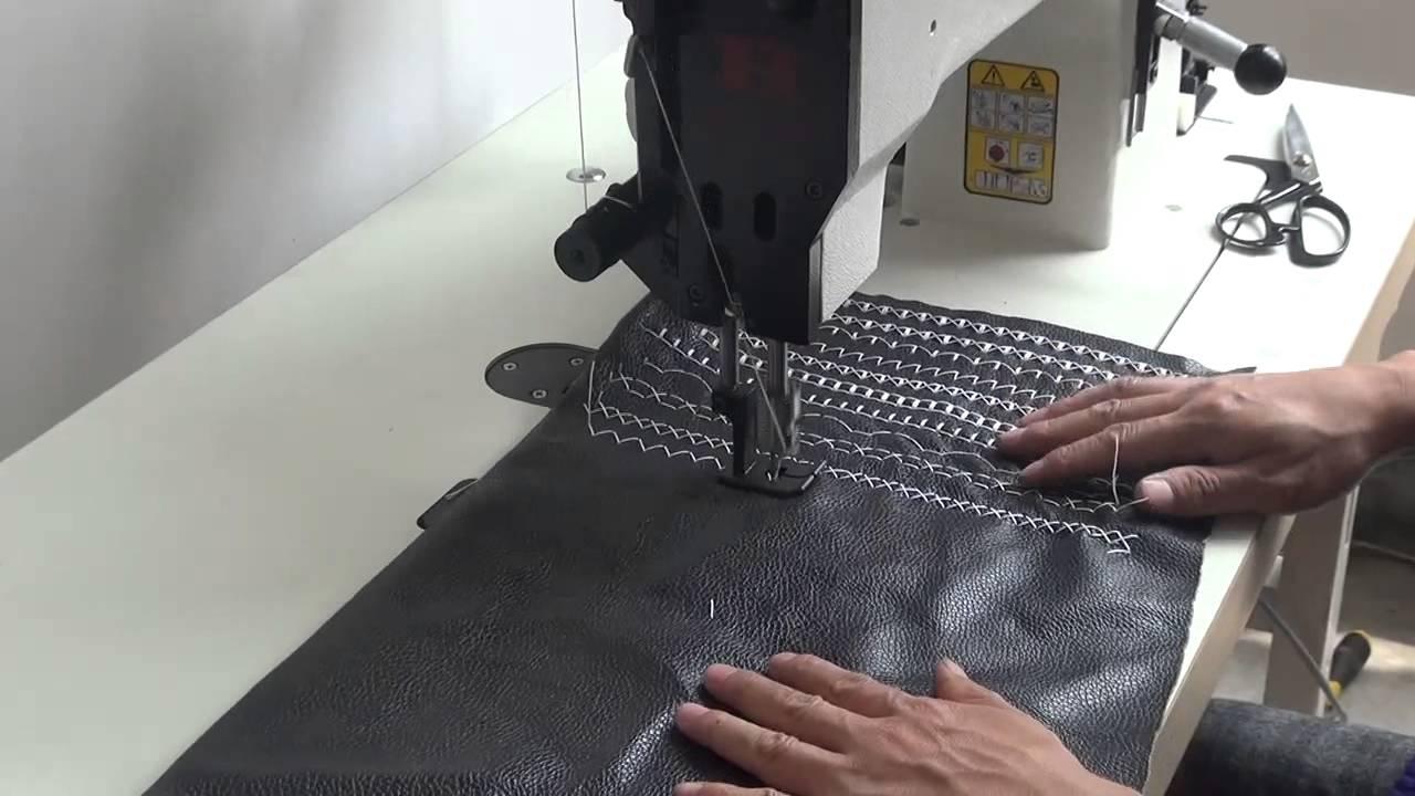 Швейная машина 22 класса. Заправка ниток. Проверка ремонта. Видео .