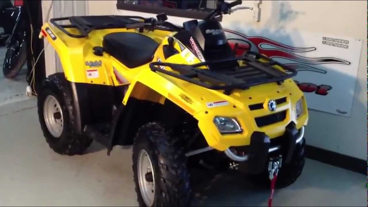 2007 can am outlander 650 can am bombardier brp youtube. Black Bedroom Furniture Sets. Home Design Ideas
