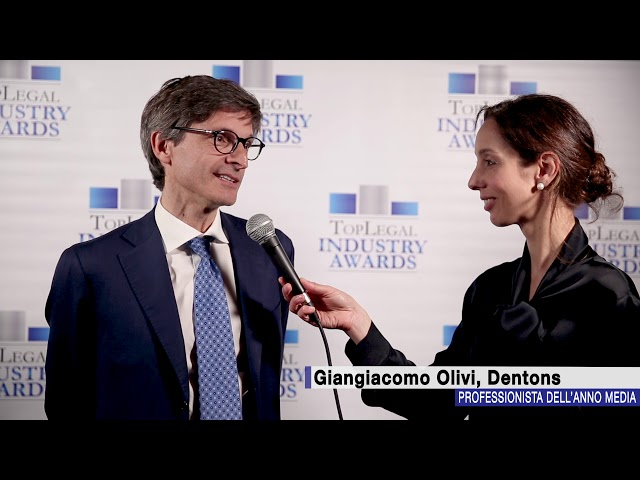 Giangiacomo Olivi, Dentons - TopLegal Industry Awards 2018