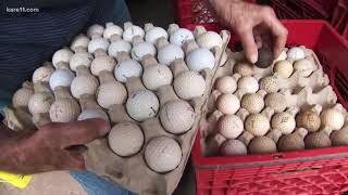 Land of 10,000 Stories: 90-year-old selling his collection of 70,000 golf balls