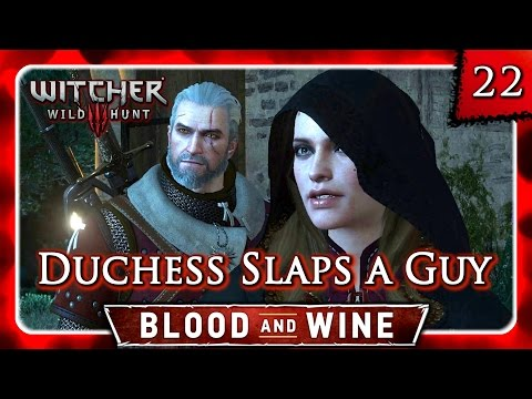 Witcher 3 🌟 BLOOD AND WINE 🌟 Sangreal - Anna Henrietta in Action #22