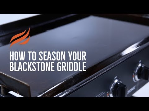 Seasoning Your Blackstone Griddle Top