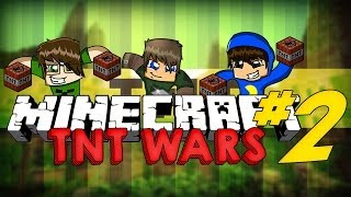 Minecraft: GUERRA DE CANHÕES V2! [2] (TNT Wars)