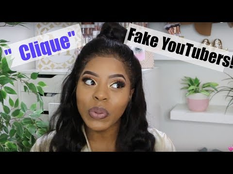 YouTube DRAMA ! CLIQUES  Dealing With Hate ! | GRWM