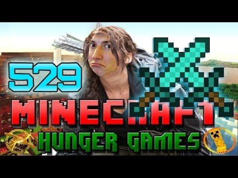 Minecraft: Hunger Games w/Mitch! Game 529 - DIAMOND SWORD CHALLENGE!